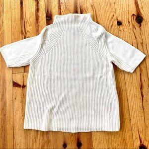 Michael Stars cream short sleeve sweater size s